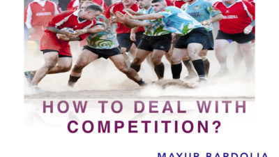 How to deal with competition?