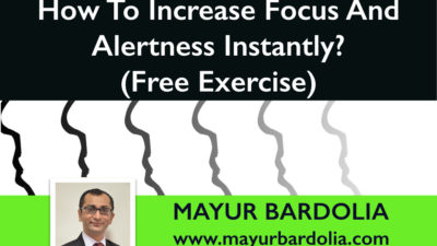 How To Increase Focus & Alertness Instantly? (Free Exercise)
